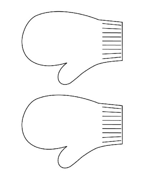 Mitten Writing Template Tools_templates/mittens-thumb.