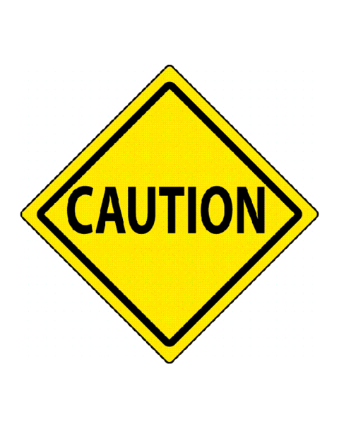 Caution Traffic Sign Template Education World - Caution sign template
