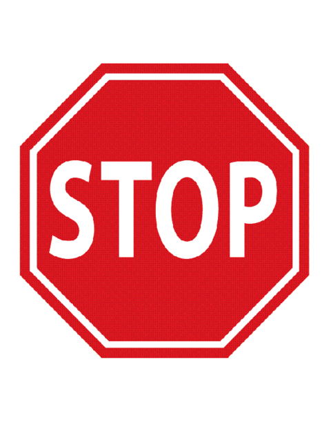 Stop traffic sign template education world for Stop sign templates