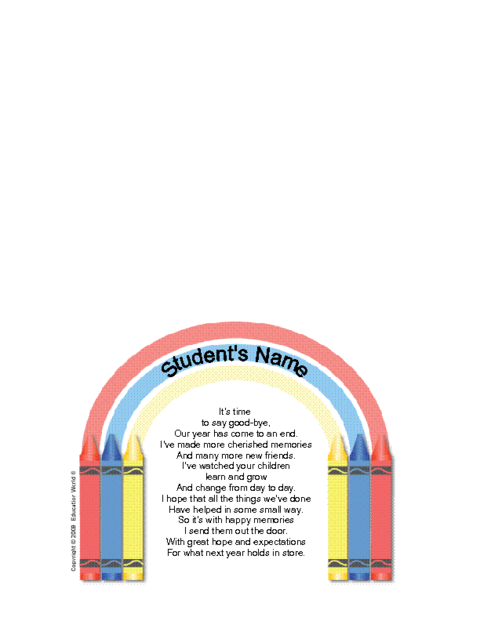Parent Goodbye Letter Template Education World - Parent letter template