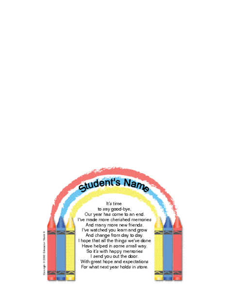 Student goodbye letter template education world click here teachergoodbye2student downloadc to download the document altavistaventures Gallery