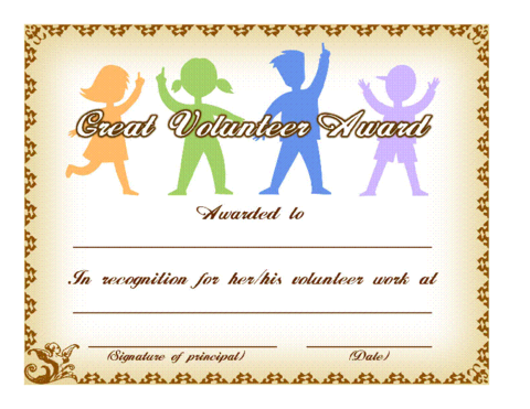 8 free printable certificates of appreciation templates.
